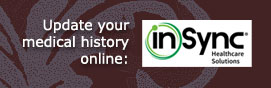 Update your medical history online